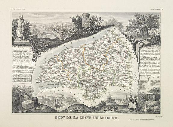 LEVASSEUR, V. -  Dépt. De La Seine Inférieure. N°73. [ Rouen ]