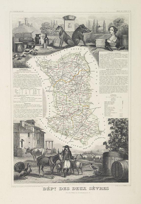 LEVASSEUR, V. -  Dépt. Des Deux Sèvres. N°76.