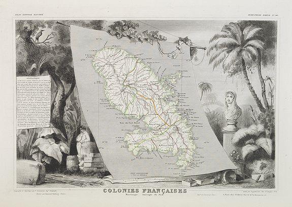 LEVASSEUR, V. - Colonies Françaises Martinique. Amérique du Sud. N°90.