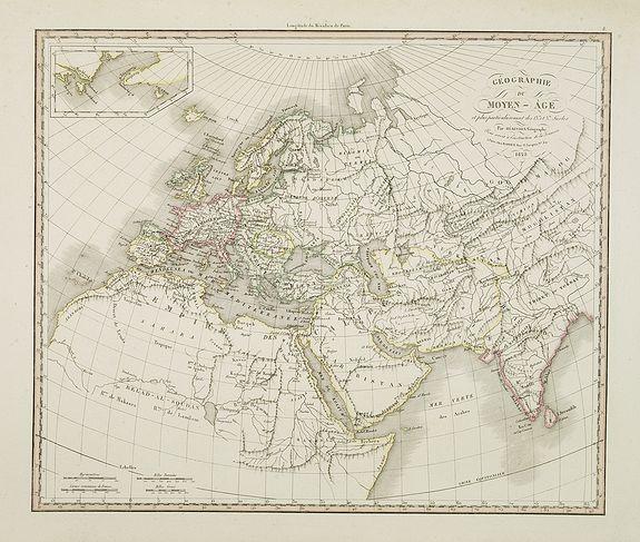 HARISSON -  Géographie du Moyen-Age et plus particulierement des IX et X. siecles . . .