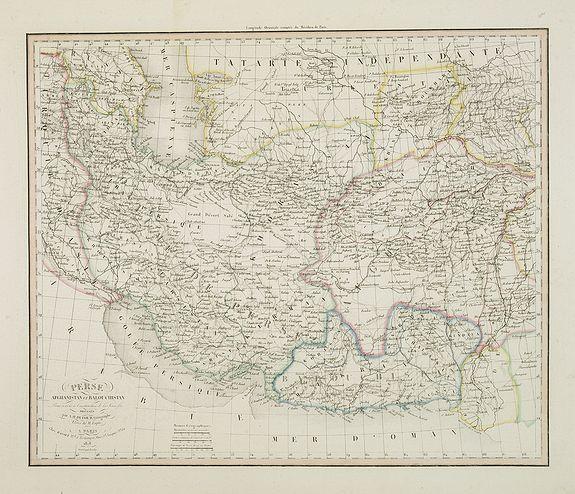 DUFOUR, A.H. -   Perse Afghanistan et Balouchistan  . . .