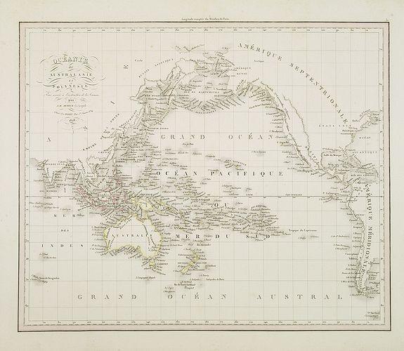 DUFOUR, A.H. -  Océanie ou Australasie et Polynesie  . . .