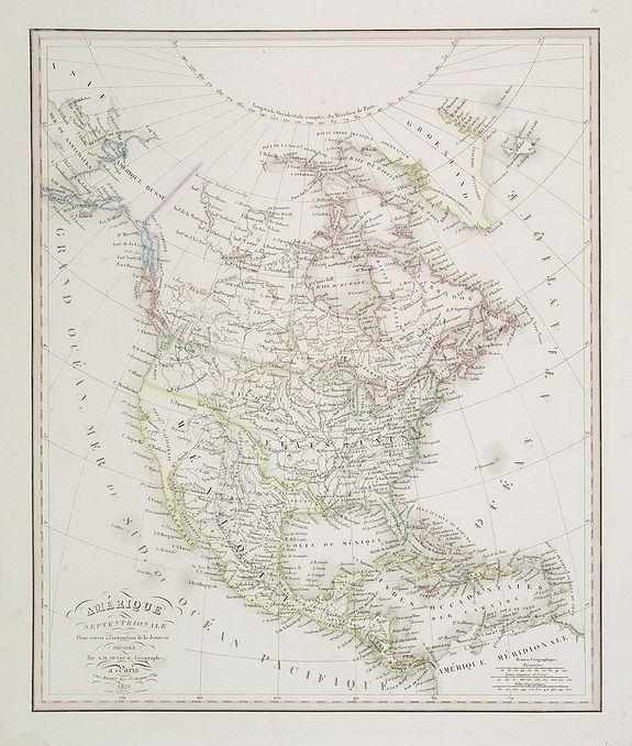 DUFOUR, A.H. -  Amérique Septentrionale  . . .