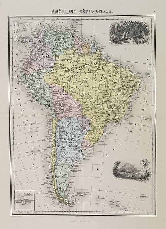 MIGEON, J. -  Amérique Méridionale.