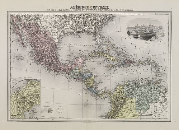 MIGEON, J. -  Amérique Centrale.