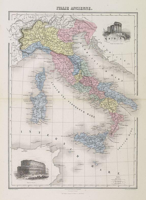 MIGEON, J. -  Italie Ancienne.