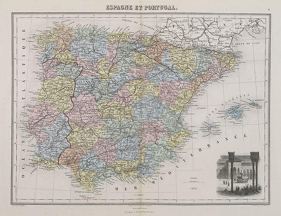 MIGEON, J. -  Espagne et Portugal.