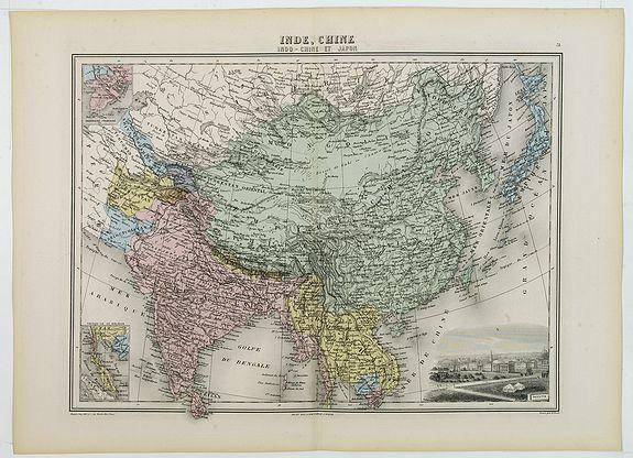 MIGEON, J. -  Inde, Chine, Indo-Chine et Japon.