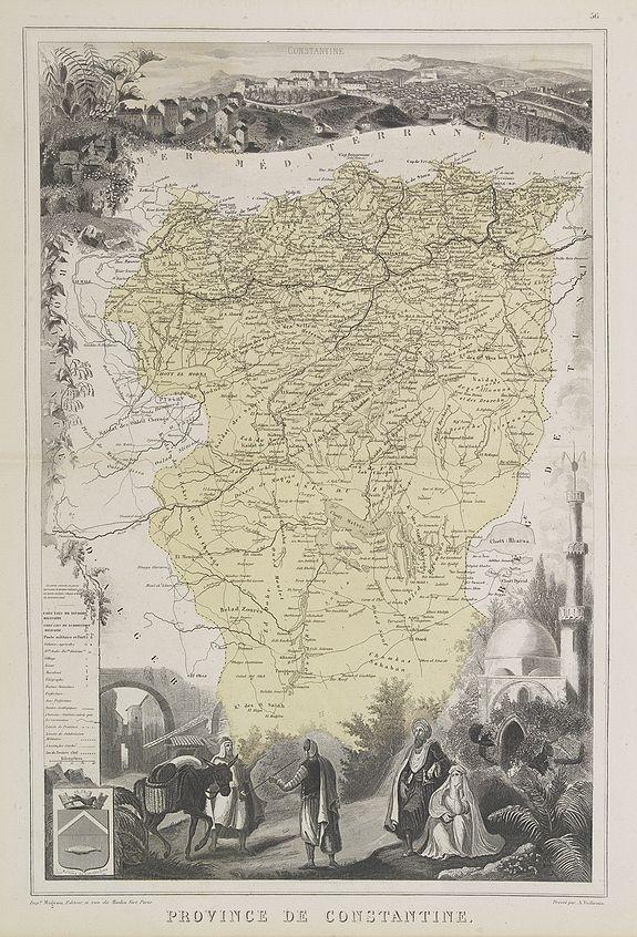 MIGEON, J. -  Province de Constantine.