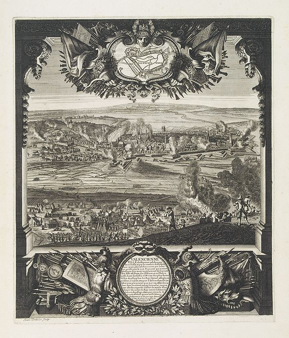 DOLIUR, J. / VAN DER MEULEN, A.F. -  Valenciennes Ville du Hainaut célébre par ses richesses . . .