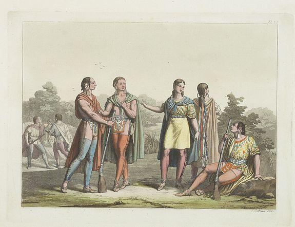 FERRARIO, G. -  [ Canadian Indians ].