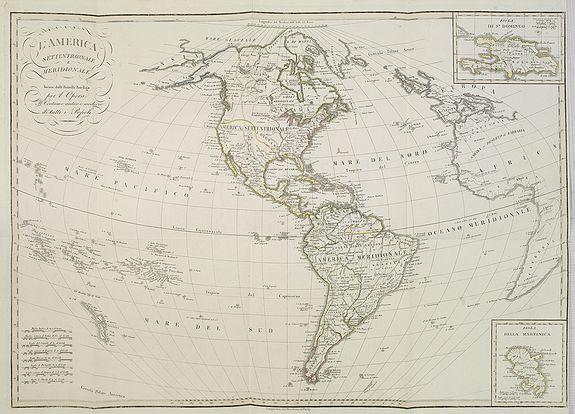 FERRARIO, G. -  L'America Settentrionale e Meridionale . . .