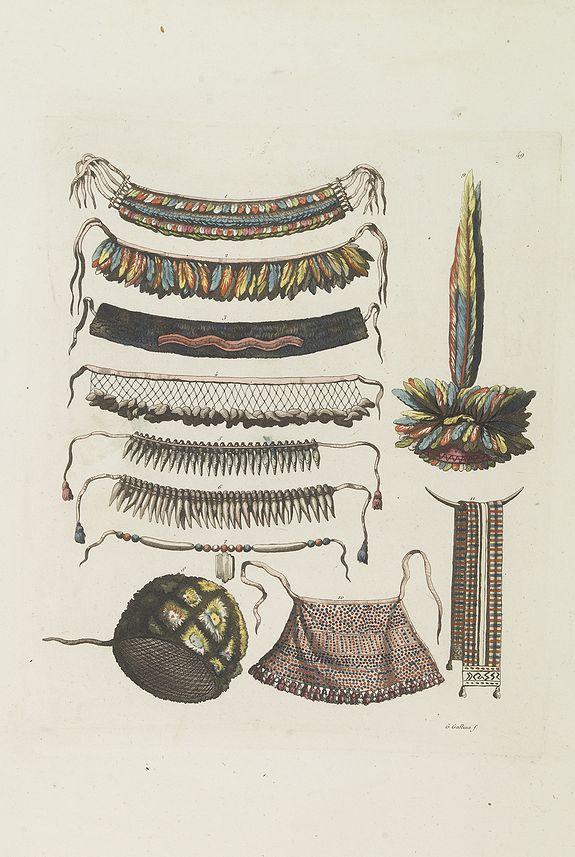 FERRARIO, G. -  [ Indian accessories ].