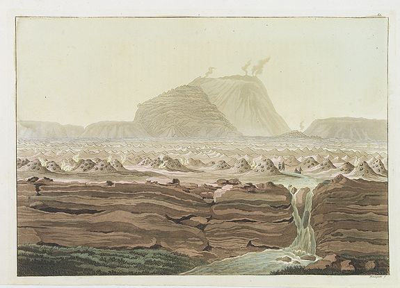FERRARIO, G. -  [ Jorullo Volcano ].