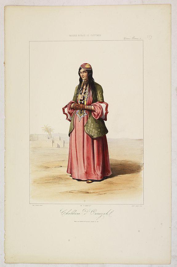 GALERIE ROYALE DE COSTUME. -  CHALDEENE d'OURMYAHL. Costumes Persans 3.