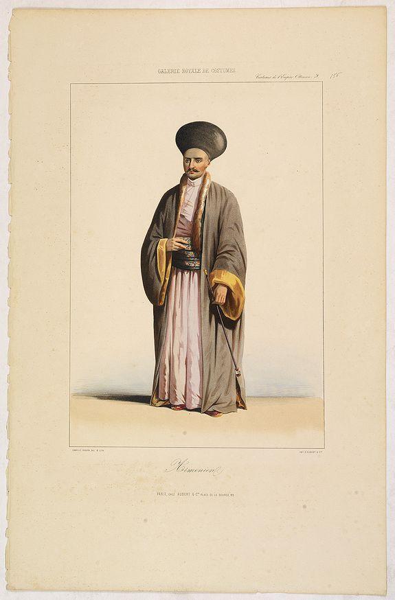 GALERIE ROYALE DE COSTUME. -  ARMENIEN. Costumes de l'Empire Ottoman 9.