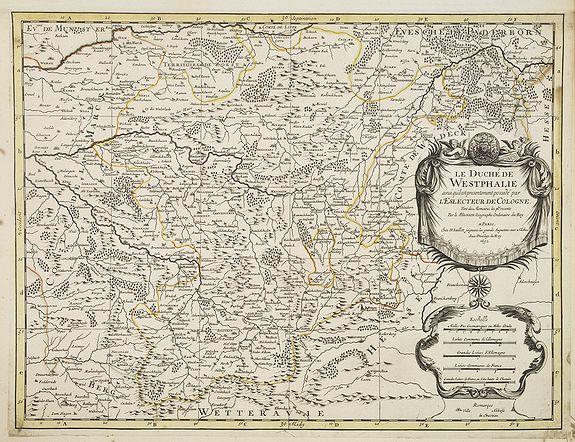 JAILLOT, H. / MORTIER, P. -  Le Duché de Westphalie . . .