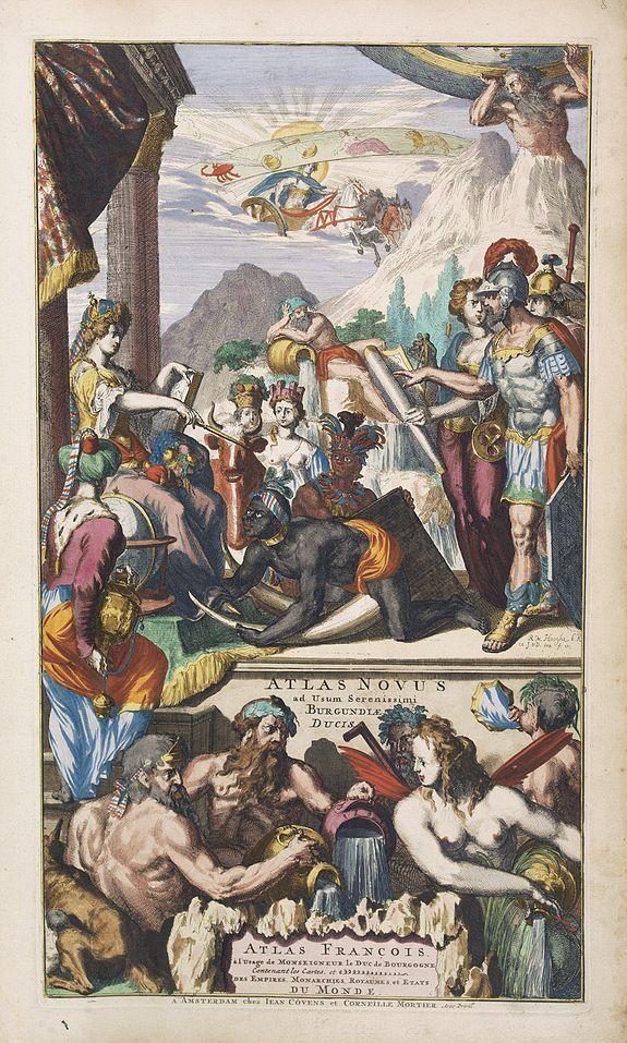 COVENS, J. / MORTIER, C. -  [Title page] Atlas Novus ad Usum Serenissimi Burgundiae Ducis.