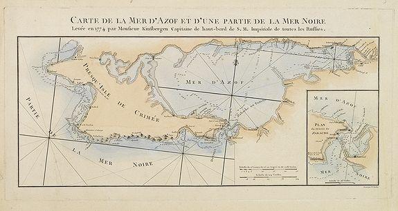 TARDIEU, P.F. -  Carte de la mer d