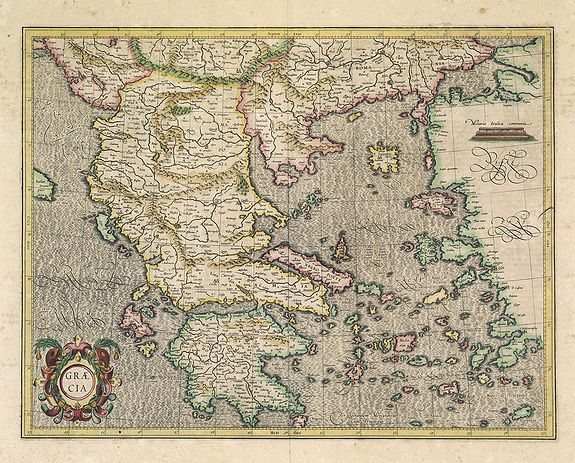 MERCATOR, G. / HONDIUS, J. -  Graeciae.