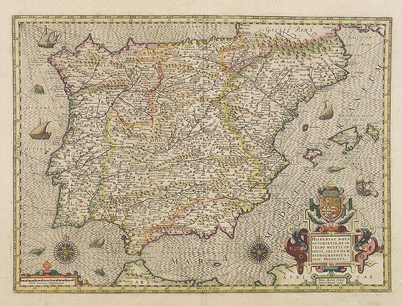 HONDIUS, J. -  Hispaniae nova describtio. . .