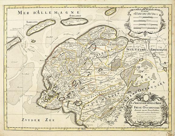 JAILLOT, H. / MORTIER, P. -  La seigneurie d'ouest-Frise ou Frise Occidentale