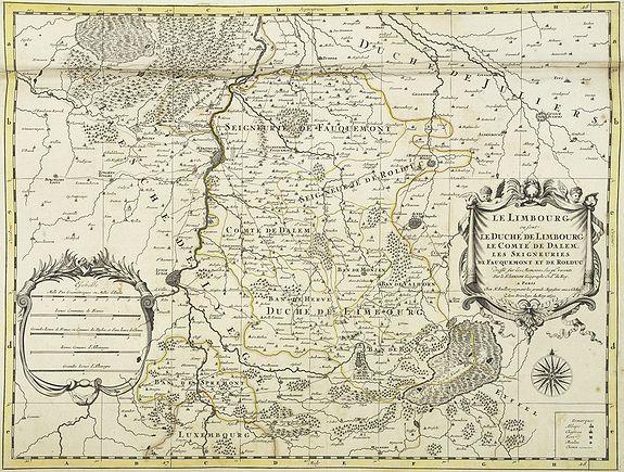 JAILLOT, H. / MORTIER, P. -  Le Limbourg ou font le duche de Limbourg. . .