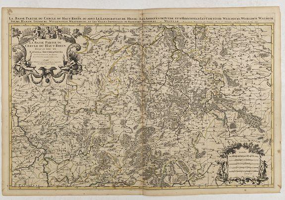 JAILLOT, H. / MORTIER, P. -  La basse partie du cercle du Haut Rhein. . .