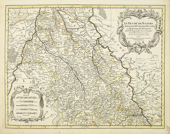 JAILLOT, H. / MORTIER, P. -  Le Duche de Iuliers, l'abbaye de St Cornelis de Munster. . .