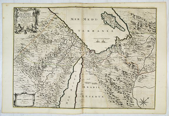 JAILLOT, H. / MORTIER, P. -  Les deserts d'Egypte de thebaide d'arabie. . .