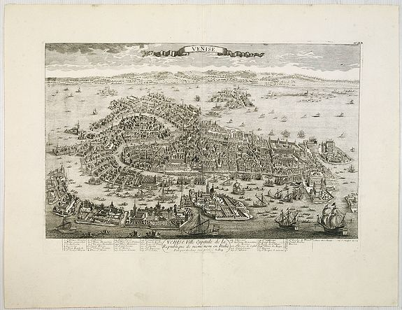 CHEREAU, J. / AVELINE, P.A. -  Venise / Ville capitale de la République de même nom en Italie.