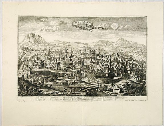 CHEREAU, J. / AVELINE, P.A. -  Jerusalem comme elle est a present.