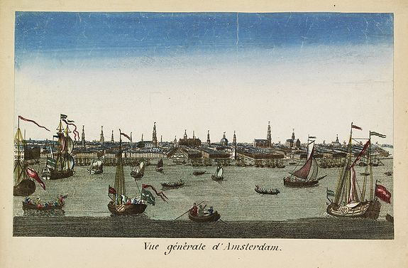 MONDHARD -  Vue générale d'Amsterdam.