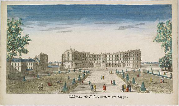 CHEREAU, J. -  Château de S.Germain-en-Laye.