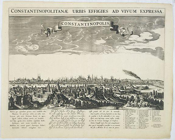DANCKERTS, D. -  Constantinopolitanae urbis effigies ad vivum expressa.