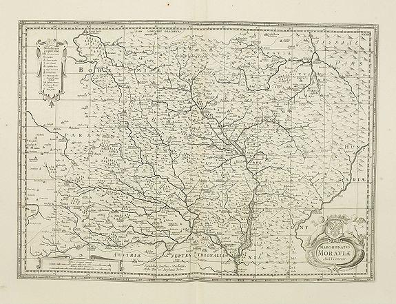 JANSSONIUS VAN WAESBERGHE ,J. / PITT, M. / SWART,  -  Marchionatus Moraviae Auct I. Comenio.