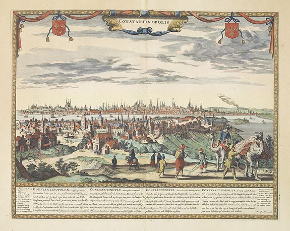 DE WIT, F -  Constantinopolis.