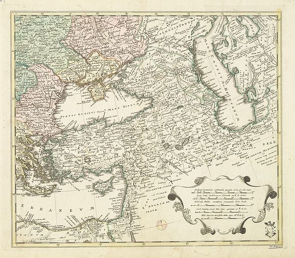 WEIGEL  Area between the Black Sea and the Caspian Sea