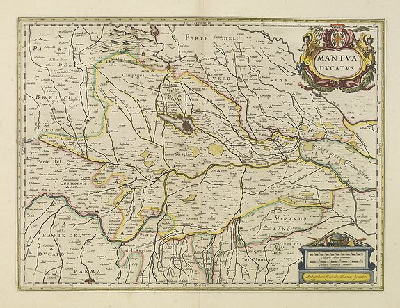 BLAEU, W. -  Mantua ducatus.
