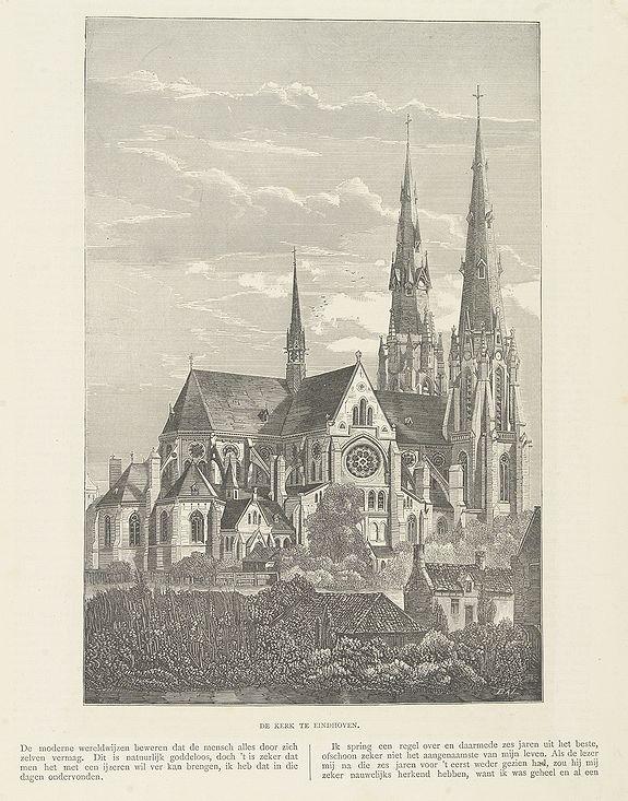 BAL, W. -  Sint Catharinakerk te Eindhoven.