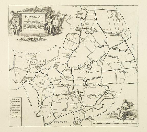 SCHOTANUS, B. -  Idaardera deel de tiende Grietenije van Ooster Goo. . .