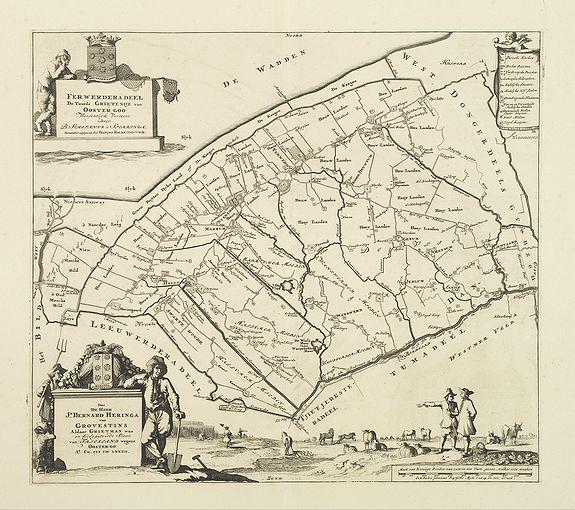 SCHOTANUS, B. -  Ferwerderadeel. De tweede Grietenije van Ooster Goo. . .