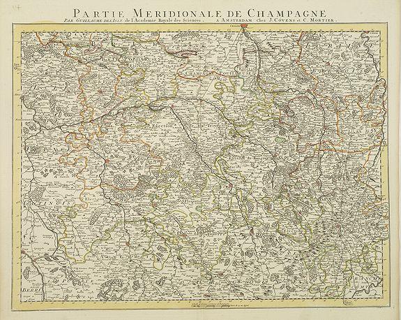 COVENS, J. / MORTIER, C. -  Partie Meridionale De Champagne. . .
