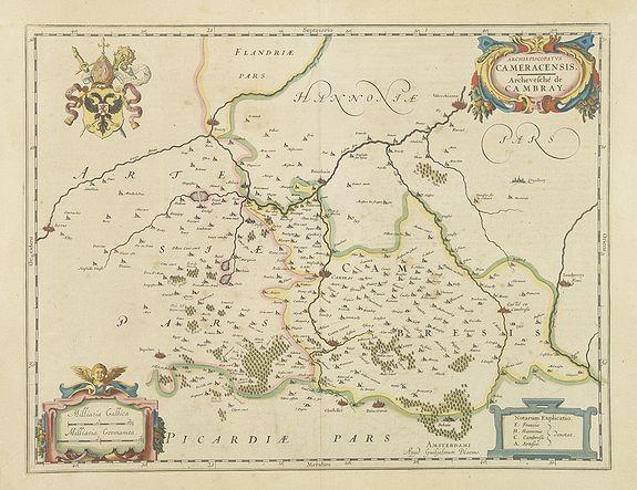 BLAEU, G. -  Description du Gouvernement de la Cappelle par P. Petit Bourbon.