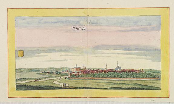 BEEK, A. / MERIAN, C. -  Weissensee.