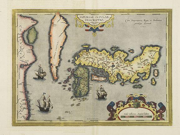 ORTELIUS, A. - Japoniae insulae descriptio.