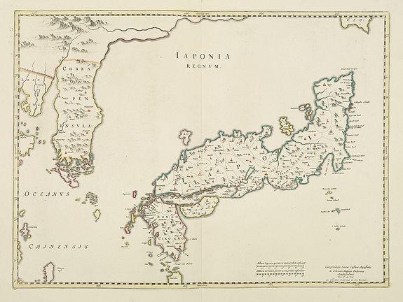 BLAEU, J. / DE WIT, F. / COVENS, J. / MORTIER, P. -  Japonia Regnum.