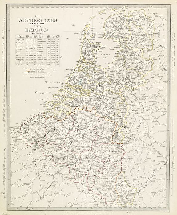 WALKER, J. & C. -  The Netherlands and Belgium.