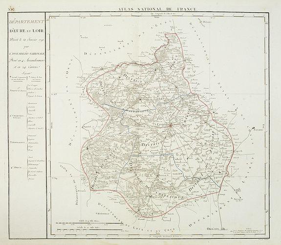 DELAVAL. J-B. -  Departement d'Eure et Loir. . .
