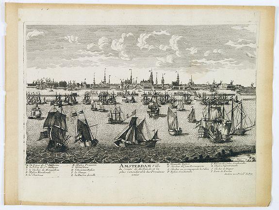 AVELINE, P.A. -  Amsterdam Ville du comté de Hollande. . .